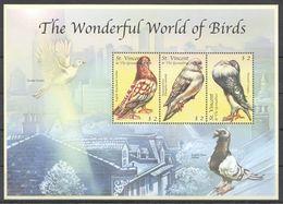 I1829 ST.VINCENT FAUNA THE WONDERFUL WORLD OF BIRDS 1KB MNH - Birds