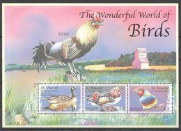 I1830 ST.VINCENT FAUNA THE WONDERFUL WORLD OF BIRDS 1KB MNH - Birds
