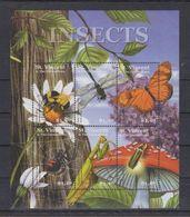 D63. MNH St.Vincent Nature Animals Insects  Butterflies - Butterflies