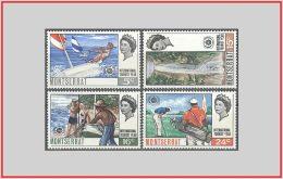 Montserrat 1967 - Cat. 189/92 (MNH **) Anno Del Turismo - International Tourism Year (009812) - Montserrat