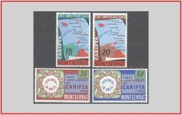 Montserrat 1969 - Cat. 212/15 (MNH **) Anniversario Della CARIFTA - Anniversary Of CARIFTA (009819) - Montserrat