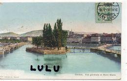 SUISSE : GE Genève , Vue Générale ; Phototypie Co Neufchâtel N° 931 - GE Genève