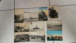 Très Beau Lot De 58 CPA Scanées Thème Bateaux / Transport Maritime / Paquebot / Navire / Nauffrage - Postcards
