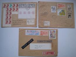 3 Lr  Avec Des Affranchissements Composés Intéréssants........à Voir - 1961-....