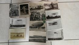 Très Beau Lot De 30 CPA Scannées Thème Aviation / Avion / Aviateur / Pilote / Zeppelin - Postcards