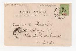 !!! PRIX FIXE : SENEGAL, CACHET TELEGRAPHIQUE DE DAKAR DE 1913 SUR CPA POUR LA FRANCE - Sénégal (1887-1944)
