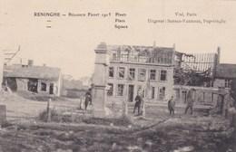 Reninghe Belgisch Front WW1 1915 Tres Animée Sansen-vanneste Poperinghe - Autres