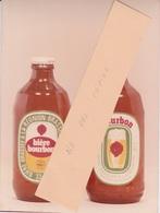 974 - PHOTO - PROJET PRIVÉ  DE PROTOTYPE - ETIQUETTE CAPSULE BIERE BOURBON - ILE DE LA REUNION - INEDITE - Beer
