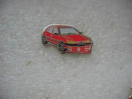 Pin's Peugeot 306 De Couleur Rouge - Peugeot