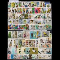 BIRDS SELECTION OF 300 DIFFERENT USED STAMPS - Collections, Lots & Series