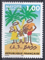 Mayotte 1998 Gesellschaft Familie Family Planning Famille Familia Famiglia Familienplanung, Mi. 46 ** - Mayotte (1892-2011)