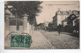 GAGNY (93) - RUE DE VILLEMOMBLE - Gagny