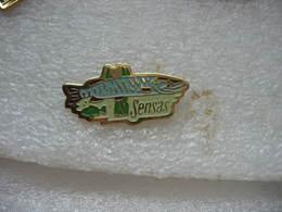 Pin's Thème De La Pêche:  SENSAS , Poisson - Badges