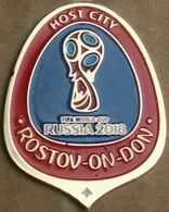 Pin FIFA 2018 Host Cities Rostov-on-Don - Football