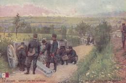 En Action Militaire Soldat Illustrée LVC En Guerre Notre Canon Couleur Offert Javel Cotelle Croix Lessive La Croix - Matériel