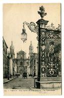 CPA 54 Meurthe Et Moselle Nancy Une Grille De Jean Lamour La Cathédrale Animé - Nancy