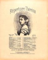 La Femme à Barbe. Parade. Partition Ancienne, Grand  Format, Couverture Illustrée Barbizet. - Spartiti