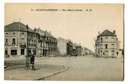 CPA 54 Meurthe Et Moselle Audun-le-Roman Rue Albert Lebrun Animé - France