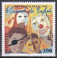 Mayotte 1998 Brauchtum Tradition Folklore Karneval Fasching Kinderkarneval Carneval Masken Masks, Mi. 48 ** - Mayotte (1892-2011)
