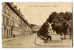 CPA 54 Meurthe Et Moselle Nancy Place De La Carrière Côté Ouest Animé - Nancy