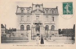 BAR SUR SEINE - LA CAISSE D'EPARGNE INAUGUREE LE 4 OCTOBRE 1903 - BELLE CARTE ANIMEE -  TOP !!! - Bar-sur-Seine