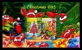 Christmas Island 2015 Christmas Minisheet MNH - Christmas Island