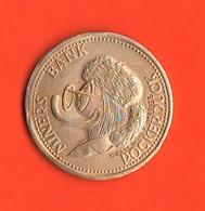 Walt Disney Dollaro 1912 Miners Bank Rockerduck Fantasia Gettone - Other Collections