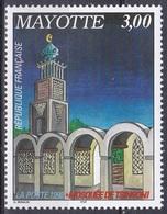 Mayotte 1998 Religion Islam Bauwerke Buildings Architektur Moschee Mosque Mosquée Tsingoni, Mi. 50 ** - Mayotte (1892-2011)