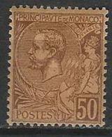 QQ--028-. N° 18, * ,  COTE 9.00 € , SCAN DU VERSO SUR DEMANDE, A SAISIR  , Liquidation - Monaco