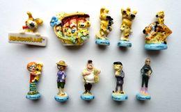 SERIE COMPLETE DE 10 FEVES MARSUPILAMI  2012 BATEM Feve - Disney