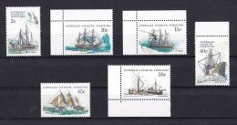 Australian Antarctic 1979-1981 Ships Series III MNH - - Australian Antarctic Territory (AAT)
