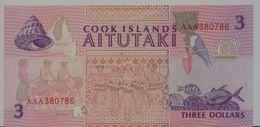 COOK ISLANDS  P. 7a 3 D 1992 VF - Cook Islands