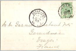 COURTRAI - M.W. SIMMS - Herdmann & Cie  Année 1900 - Entiers Postaux (dimensions 11.2 X 7.4cm) - Kortrijk