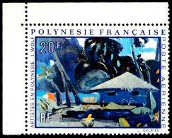 POLYNESIE 1971 - Yv. PA 55 ** TB Cdf  Cote= 10,00 EUR - Tableau D'I. Wolf  ..Réf.POL23405 - Poste Aérienne