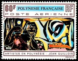 POLYNESIE 1970 - Yv. PA 42 **   Cote= 21,00 EUR - Tableau De Jean Guillois  ..Réf.POL23406 - Poste Aérienne