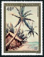 POLYNESIE 1974 - Yv. PA 85 ** TB  Cote= 37,00 EUR - Tableau De M. Chardon  ..Réf.POL23408 - Poste Aérienne