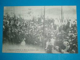 """41 ) Blois - Concours De Pêche -  N° 5 - Du 28 Juin 1908 """" Le Pessage Des Poissons """"  - Année  - EDIT : Vannier - Blois"""