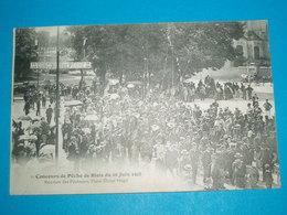 """41 ) Blois - Concours De Pêche -  N° 1 - Du 28 Juin 1908 """" Réunion Des Pêcheurs ; Place Victor Hugo - EDIT : Vannier - Blois"""