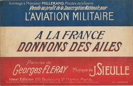 A La France Donnons Des Ailes - Partition Musicale - Partitions Musicales Anciennes