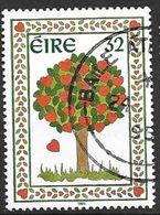 Irlande 1995 N°885 Oblitéré Timbre D'Amour - 1949-... Repubblica D'Irlanda