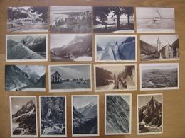 CP Lot Cartes Postales Postcards MONTAGNE ALPES THONON MONT BLANC CHARMOZ PRAZ - Postcards