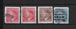 LOTE 1660  ///  BOHEMIA Y MORAVIA   YVERT Nº:  84+85+87 - Used Stamps
