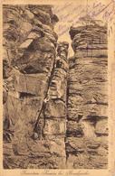 Allemagne - Geierstein Kamin Bei Bruchweiler 1918 - Escalade Bergsteiger - Otros