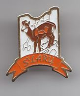 Pin's Saint Lary Dpt 65 Cerf Chamois Réf  1898 - Cities