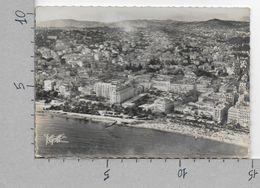 CARTOLINA VG FRANCIA - CANNES - Vue Aerienne La Croisette La Plage Les Jardins Les Hotels - 10 X 15 - ANN. 1954 - Cannes