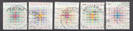 Pays-Bas 1987  Mi.nr: 1331-1335 Dezembermarken  Oblitérés / Used / Gestempeld - 1980-... (Beatrix)