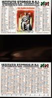 16238) CALENDARIETTO DA TASCA ISTITUTO STORICO R.S.I. REPUBBLICA SOCIALE ITALIANA 2002 - Calendari