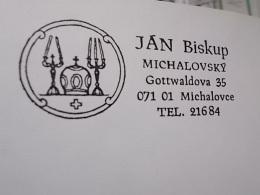 2585 - JAN BISKUP MICHALOVCE + DOCUMENT - Lettres & Documents