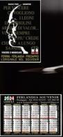 16240) CALENDARIETTO DA TASCA FERLANDIA SOUVENIR PREDAPPIO DUCE PER SEMPRE 2004 - Calendari