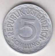 OSTERREICH  5  SCHILLING  1952 - Autriche